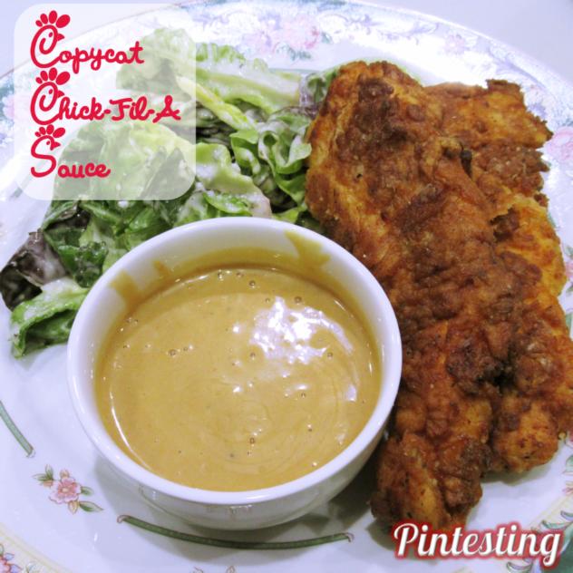 Pintesting Chick-Fil-A Sauce