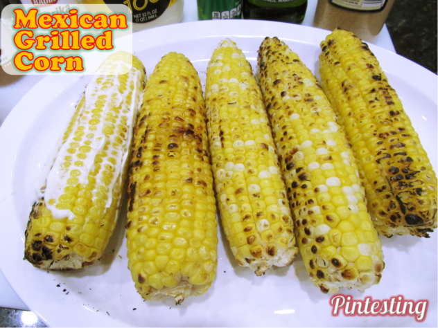 Pintesting Mexican Grilled Corn