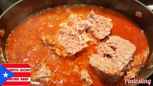 Pintesting Puerto Rican Corned Beef