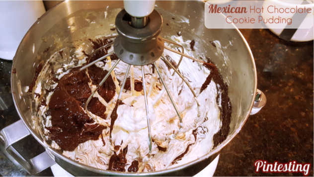 Pintesting Mexican Hot Chocolate Cookie Pudding - Add Chocolates
