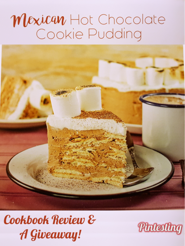 Pintesting Mexican Hot Chocolate Cookie Pudding - Cookbook Review & Giveaway