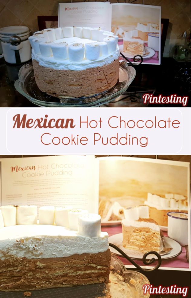 Pintesting Secret-Layer Cakes Cookbook - Mexican Hot Chocolate Cookie Pudding & A Giveaway