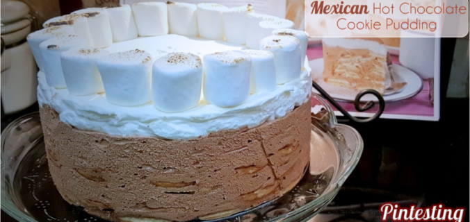 Pintesting Mexican Hot Chocolate Cookie Pudding - Twitter Thumbnail